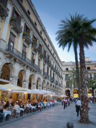 Placa Reial, Barcelona,