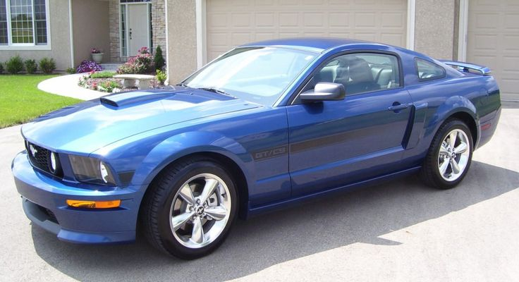 2007 Mustang GT California Special