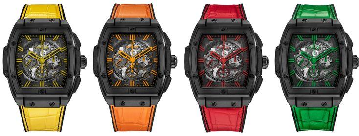 Hublot Spirit Of Big Bang All Black Watch In Four Colorways