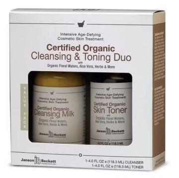 Janson Beckett Organic Cleansing&Toning Duo http://www.narecza.com/Janson-Beckett,LA_1901-3.html#labels=1901-3