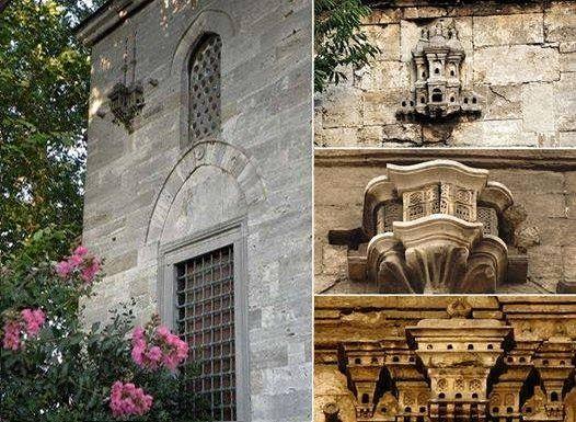 Osmanlı'nın ince ruhunun, yaratılana duyulan saygı, sevgi ve merhametin en güzel göstergelerinden biri olan kuş evleri, diğer bir deyişle kuş sarayları, Osmanlı medeniyetine özgü bir güzellik olarak karşımıza çıkar. 16. yüzyıldan itibaren bir çok Anadolu ve Rumeli şehir ve kasabalarında, binaların cephelerine kuş sarayları yapılmaya başlanmış ve giderek yaygınlaşmıştır. En sanatkarane örnekleri İstanbul'da olup, 19. yüzyıla kadar gelişerek milli mimarimizin çok ilgi çekici bir detayı haline…