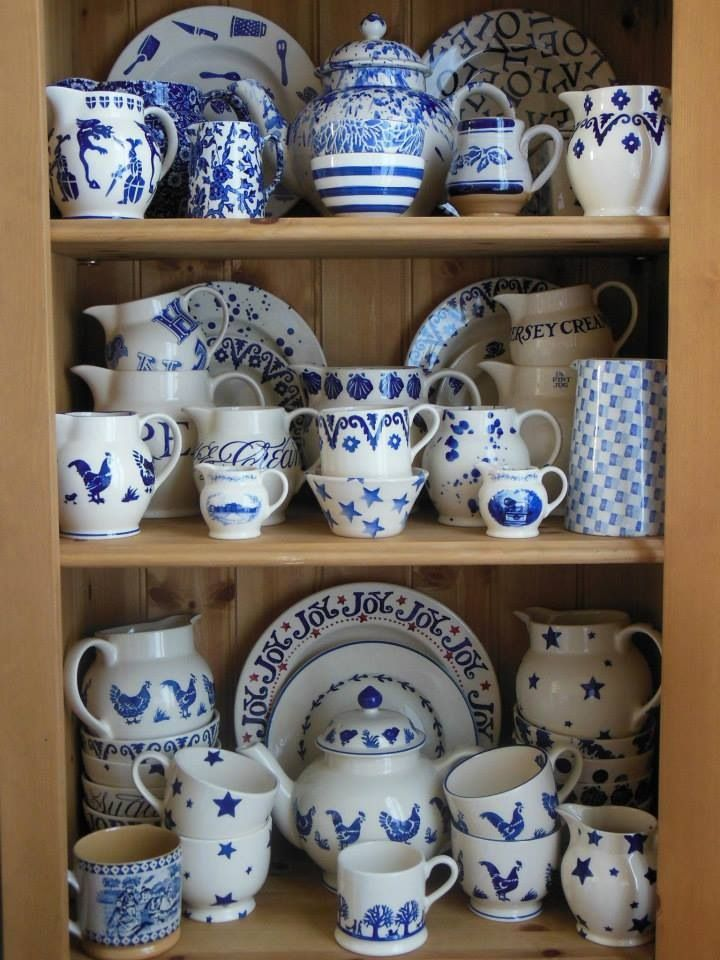 Emma Bridgewater Blue Collection