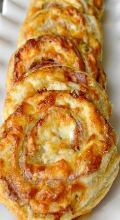 This is a recipe that pleases everyone! The ladies love these for their buttery, crispy  deliciousness, and the guys love the salami, mustard, cheesy yum!