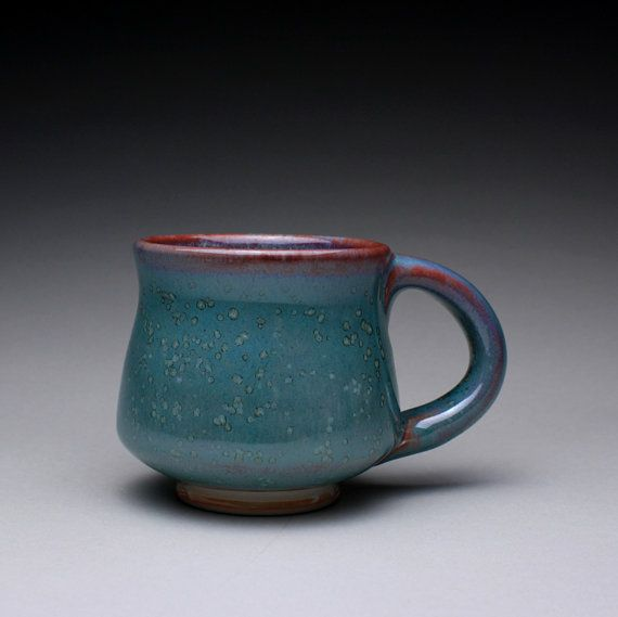 handmade porcelain mug teacup ceramic cup with by rmoralespottery, $25.00