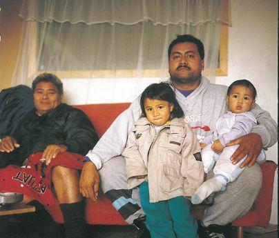 Greg Semu. Paulo Suluape's tattoo studio. Otara, Auckland, 1994.