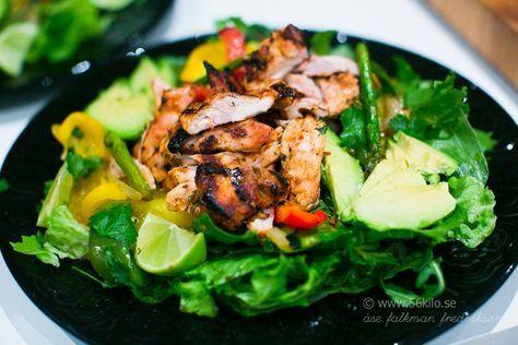 Chicken Fajita Sallad