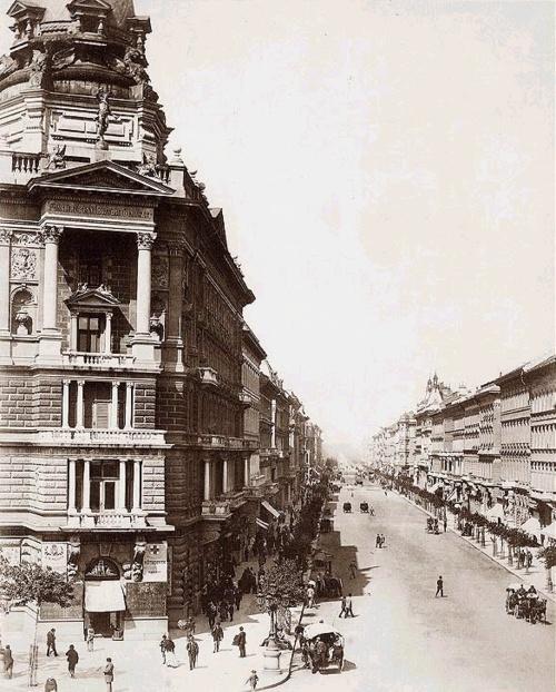 Andrássy Boulevard 1875, Budapest