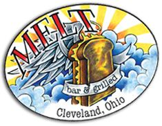 One of the best restaurants ever, located in the best city ever. gourmet grilled cheese and enough beer selections to keep you drinking for awhile. #cleveland #ohio #melt