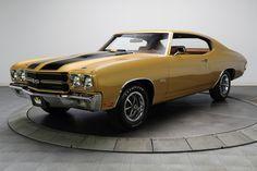 1970 Chevrolet Chevelle Super Sport Gold