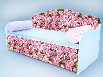 """Кровать диван """"Розы"""""""