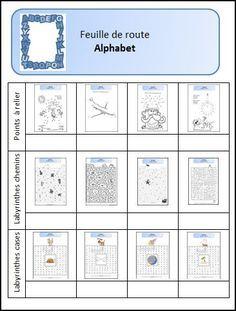 Alphabet - L'école de Julie