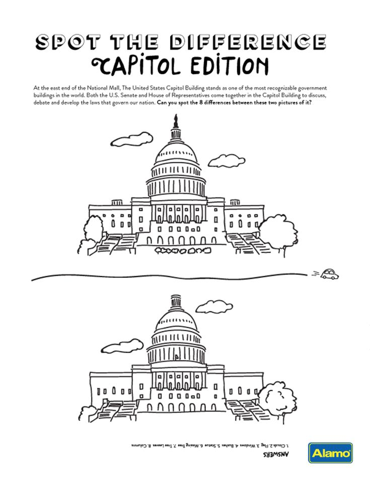 Washington Dc Activities Family Vacation Activity Sheets In 2020
