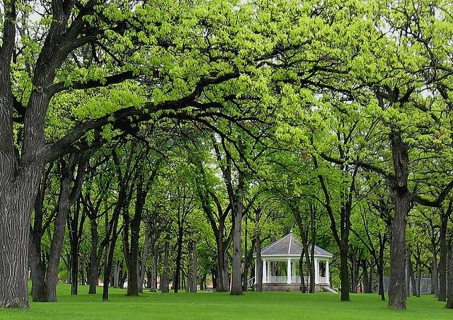 Island Park Gazebo ( Fargo), North Dakota - USA