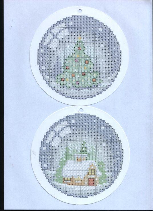 Gallery.ru / Photo # 1 - Cross Stitch Crazy 146 + application in January 2011 Snow globe c - tymannost