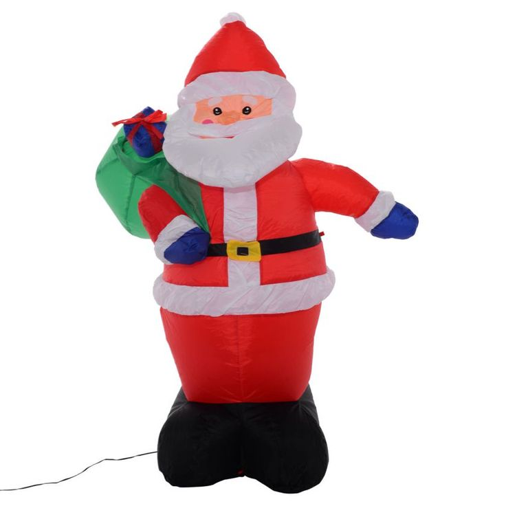 17 best ideas about inflatable christmas decorations on for 4 foot santa claus decoration