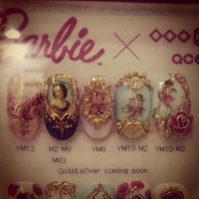 acegel×Barbie×松田ようこ  #ネイルパートナー#松田ようこ#エースジェル#バービー#ネイル#ネイルアート#ネイルデザイン#ジェルネイル#トレンド#ファッション#nail#nailpartner#nailswag#nailart#naildesign#gelnail#acegel#Barbie#trend#fashion#cute#kawaii#Japan#Japanese#Tokyo