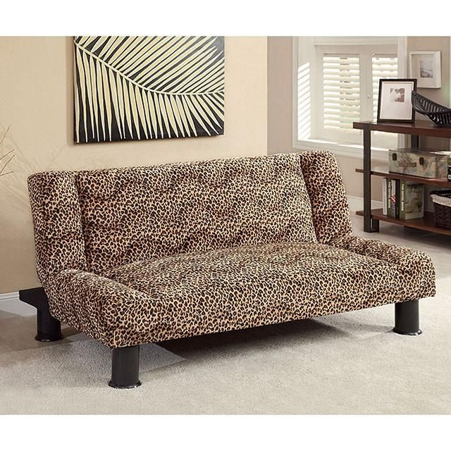 The Furniture of America Zebria Futon gives you a very interesting piece of furniture. Las Vegas Furniture Online | LasVegasFurnitureOnline | Lasvegasfurnitureonline.com
