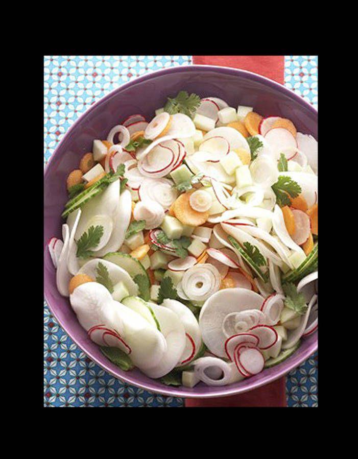 Cuisine recettes ete grandes tablees anti coleslaw