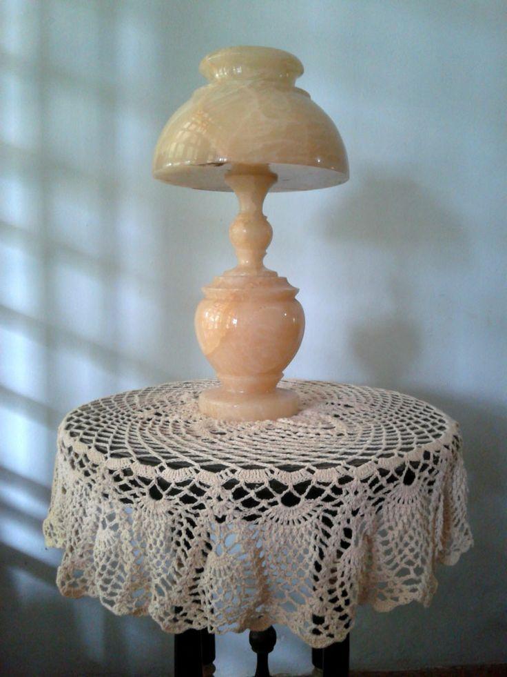 Taplak Meja, hasil sulaman Mama  #crochet