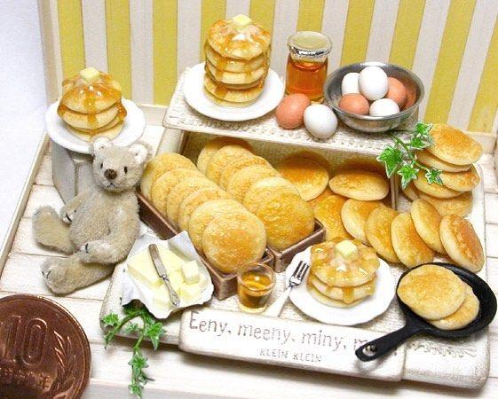 postのネタが無いので過去作品( ̄▽ ̄;) パンケーキいっぱい ・ #ミニチュアフード #ミニチュアテディベア #パンケーキ #ホットケーキ #ハチミツ #樹脂粘土 #ミニチュアベア #食品サンプル#クラインクライン#ミニチュアサンプル #miniatureteddybear#pancakes#pancake #hotcake #honey #miniaturefood#foodsample #clay#polymerclay #10円玉 #10円#Miniatur #微型 #миниатюра #미니어처