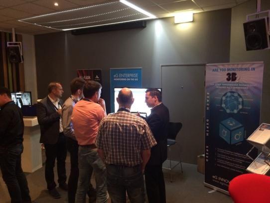 EG Innovation at IT- GALAXY 2015 - Spant! Bussum, The Netherland
