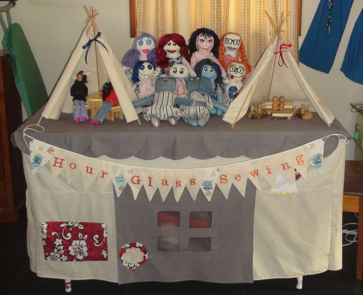 This is a mock up of the market stall Hour Glass Sewing will be having; www.naturalplayfo... will be hosting Dale Eadie from Puzzles Family Day Care for a workshop and market day Saturday, 1 August, 2015 Main Auditorium, Club Macquaire Lake Road, Argenton, NSW, 2284