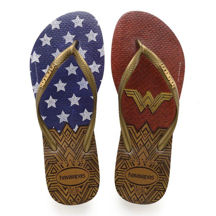 Havaianas Slim Wonder Woman Sandal Rose Gold  Price From: 37,90$CA