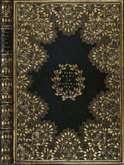 "Booktryst: Communism Never Looked So Good – William Morris's custom-bound copy of Marx's ""Das Kapital"""