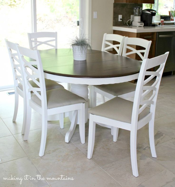 Dining Chair Makeover MakeoverKitchen Table MakeoverSanding FurnitureDiy FurniturePainted