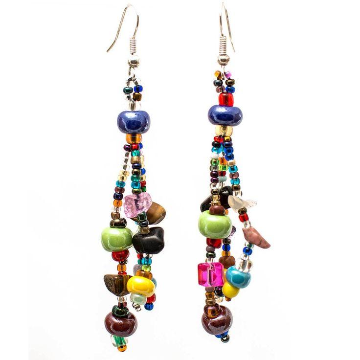 Beach Ball Earring - Multi - Lucias Imports (J)