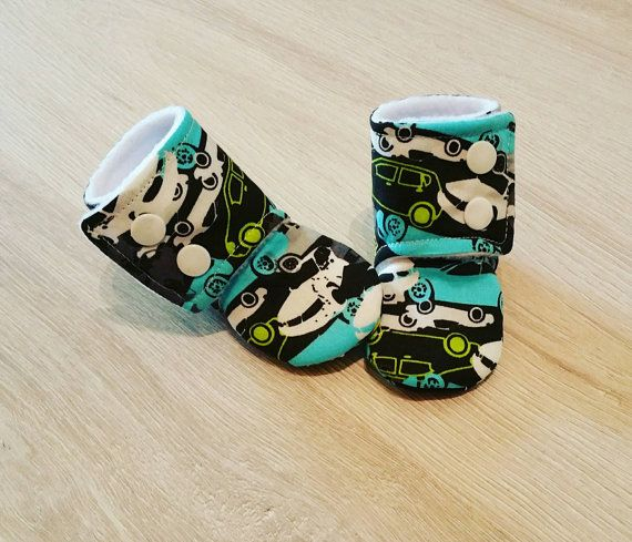 Check out this item in my Etsy shop https://www.etsy.com/ca/listing/289217761/baby-booties-baby-gifts-stay-on-boots