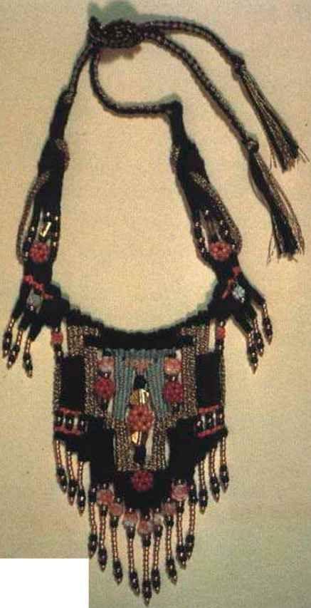 Anasazi Indian Colors Fiber Jewelry