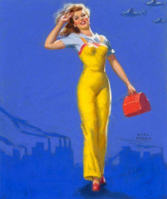 Bomb Girl by Earl Moran