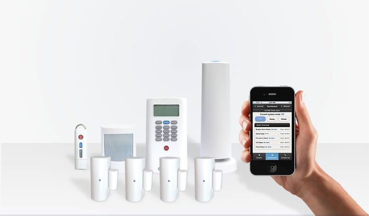Plus Security System: 8 Components | Wireless Home Security Systems