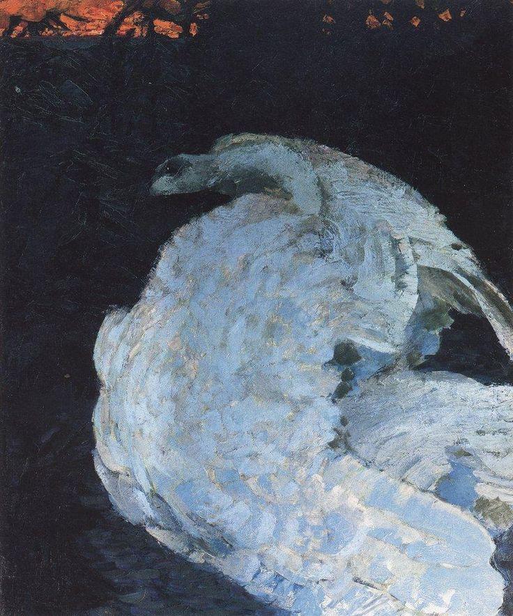 М.А.Врубель - Лебедь. 1901