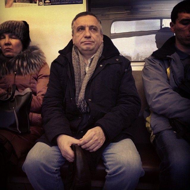 Stanislav Lvovsky. Subway people