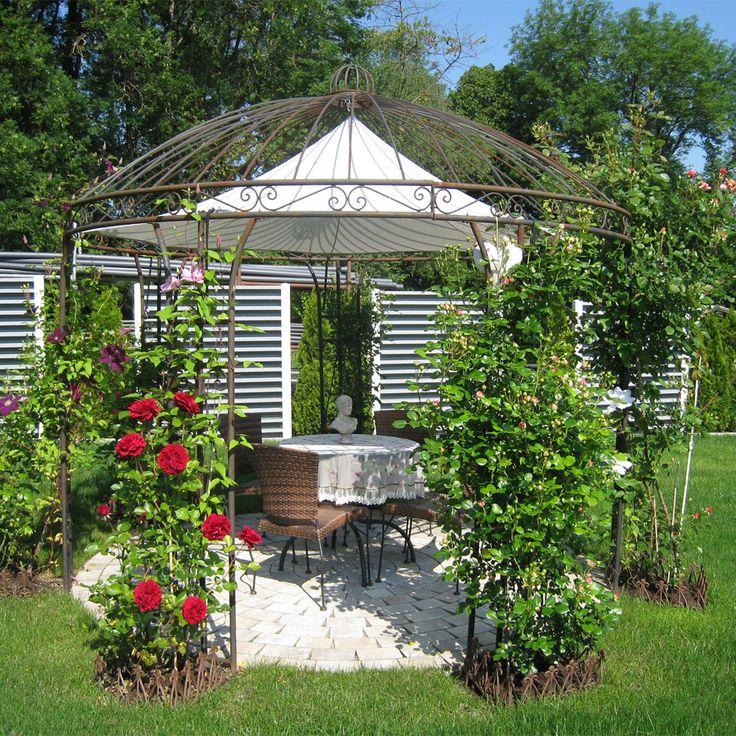 18 best eisenpavillons gartenpavillon rosenpavillon. Black Bedroom Furniture Sets. Home Design Ideas