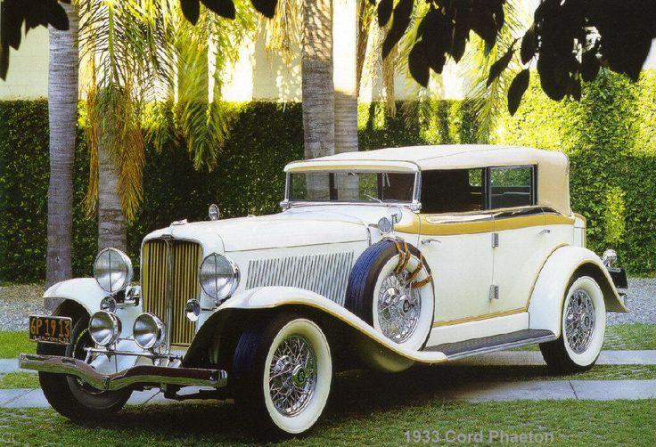 1933 Cord Phaeton                                                                                                                                                      More