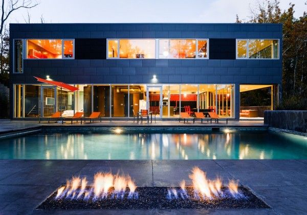 Swimming Pool and Fireplace from Luxury Home Design Ideas with Amazing Refuge Surrounded Innovation3 Luxury Home Design Ideas with Amazing Refuge Surrounded Innovation
