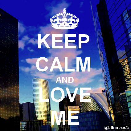 Keep Calm and Love Me Ellia Rose & Air-D