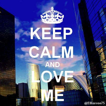 Keep Calm and Love Me Ellia Rose & Air-D