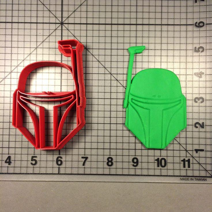 Star Wars – Boba Fett Mask 101 Cookie Cutter