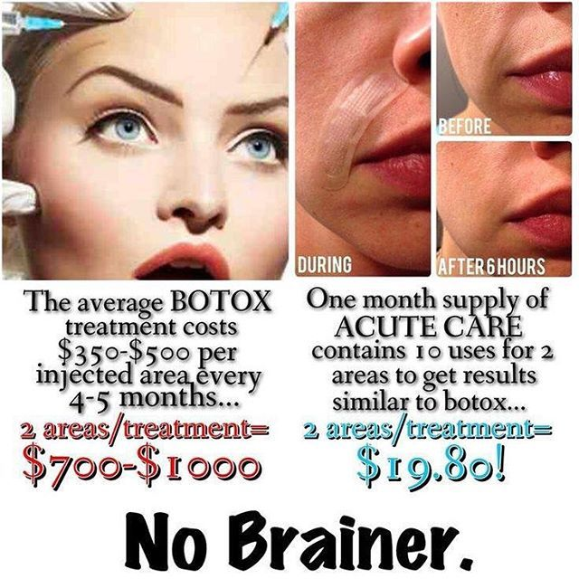 I can't tell you how many times I thought about getting Botox before finding R + F. The pain, and the fact that my husband might have had a small heart attach after seeing that months credit card bill stopped me. Thank goodness I found my secret weapon...Rodan + Fields Acute Care!! Much less pain and less pricey! Message me to find out how you can get on the path to reduced lines and a fresher face. #wrinklesbegone #rodanandfields #acutecare #botox #betterthanbotox #wrinkles Cyr.myrandf.com