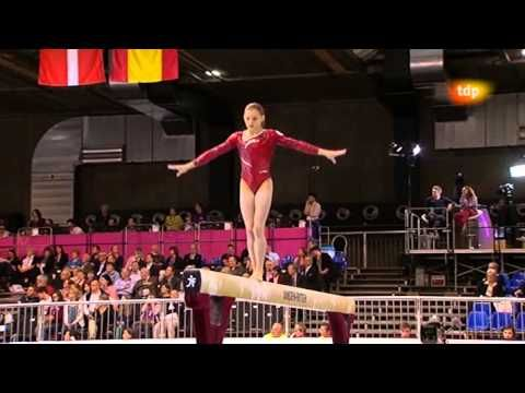 Campeonato Europa gimnasia artística 2012. Final equipos femenina (5-8)