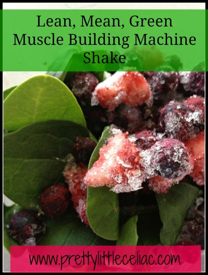Gluten-Free Post Workout Shake Recipe by fitness and gluten-free expert Rebecca Black of Pretty Little Celiac.