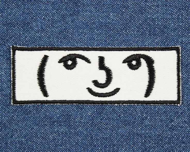 Emoji: ( ͡° ͜ʖ ͡°) Lenny Face Patch