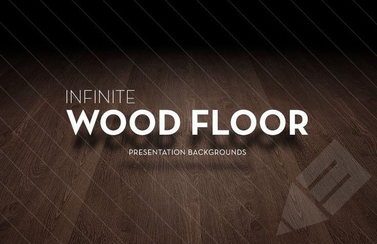 preview of infinite dark wood floor presentation backgrounds