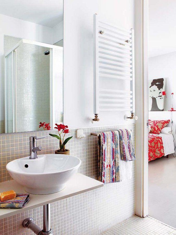 17 mejores ideas sobre ba o con toallero en pinterest - Percheros para banos ...