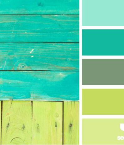 boarded brights,  Color Palettes