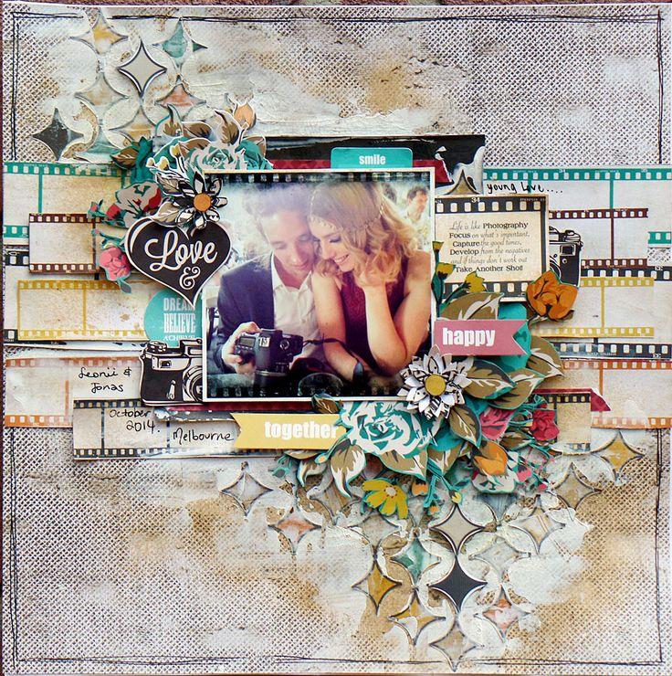 Happy Together layout by Michelle Grant